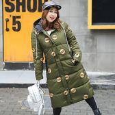 中大尺碼~加長版型防風加厚棉衣外套(XL~4XL)