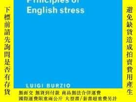 二手書博民逛書店Principles罕見Of English StressY256260 Burzio, Luigi Camb
