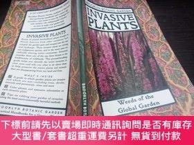 二手書博民逛書店INVASIVE罕見PLANTS;WEEDS OF THE GLOBAL GARDEN 小16開平裝 原版英法德意