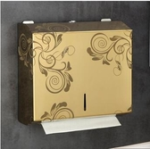 壁掛紙巾盒 不銹鋼擦手紙盒衛生間廁所抽紙盒免打孔壁掛式防水家用廚房紙巾架YJT 暖心生活館