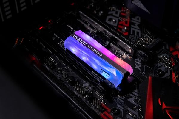 KLEVV 科賦 CRAS C700 RGB 480GB M.2 2280 NVMe 固態硬碟