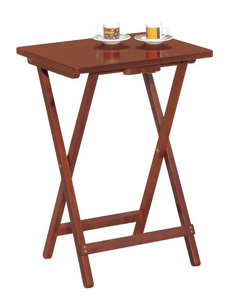 [ 家事達] TMT 實木休閒折合桌TCY-271