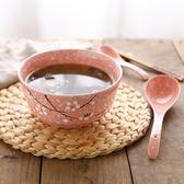 日式大號湯碗泡面碗雪花釉下彩陶瓷TY153『科炫3C』