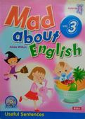 (二手書)Mad about English3(1CD)