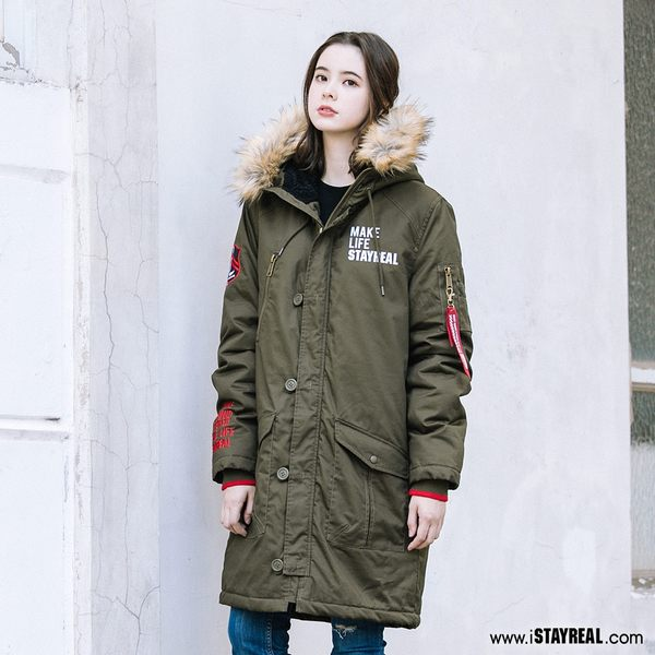 STAYREAL 真實本色防寒N3B外套