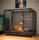 狗籠子中大型犬寵物狗狗室內帶廁所分離圍欄柯基拉布拉多金毛狗屋【匯美優品】