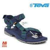【Teva】男款 Terra Fi Lite 經典緹花織帶涼鞋 -海藍綠(1001473ANNV)【全方位運動戶外館】