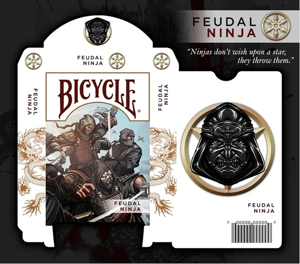 【USPCC 撲克】Bicycle ninja deck playing card