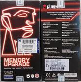 全新 Kingston 桌上型記憶體 16GB/D4/2400 DT ( KVR24N17D8/16 )