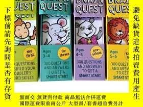 二手書博民逛書店Brain罕見Quest 學前智力開發問答卡片英文大腦任務低幼英語啟蒙早教Y21066 - -