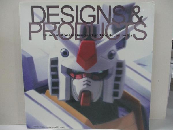 【書寶二手書T2/藝術_EK6】DESIGNS & PRODUCTS _KATOKI HAJIME