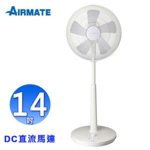 AIRMATE艾美特14吋DC直流馬達省電定時立扇 FS35003T