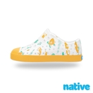 native 大童鞋 JEFFERSON 小奶油頭鞋-海底世界黃
