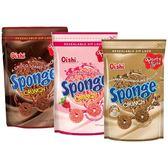 菲律賓 Oishi Sponge可可/草莓/摩卡 甜甜圈造型餅乾(120g) 款式可選【小三美日】團購 / 零嘴