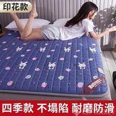 床墊軟墊榻榻米地鋪睡墊單人學生宿舍海綿床褥薄墊被子雙人家用夏 LX