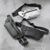 防水腰包男士個性胸包休閒戶外運動斜挎包時尚韓版潮流死飛騎行包『小淇嚴選』