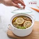 6英寸日式陶瓷泡面碗 家用小號微波爐碗帶...