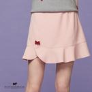 拼接荷葉下擺造型裙【AF2156】