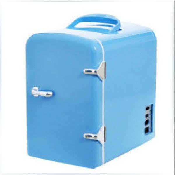 4L迷你小冰箱/車載冰箱/電子冰箱/化妝品冰箱 電子冷熱箱 igo 櫻桃