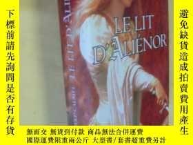 二手書博民逛書店法文原版罕見精裝 Le lit d Aliénor.Mireille CalmelY7215 Mireille
