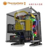 Thermaltake曜越Core P1 TG壁掛式迷你ITX強化玻璃機殼(CA-1H9-00T1WN-00)