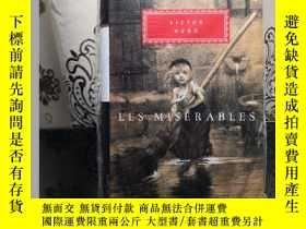 二手書博民逛書店LES罕見MISÉRABLES 悲慘世界 Victor Hugo 維克多·雨果 everyman s librar