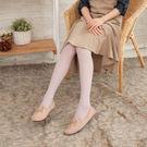 80D一體式無縫提臀立體條紋啞光褲襪 (香芋紫)