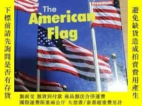 二手書博民逛書店英文版兒童科普畫冊:The罕見American Flag (Sy