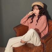 IN SHOP 氣質立領短縮袖毛衣-共4色【KT221544】