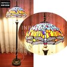 INPHIC-歐式地中海藍色蜻蜓手工臥室客廳復古奢華落地燈_S2626C