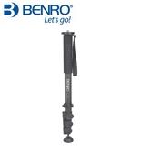 【聖影數位】百諾 BENRO  C38F 板扣式碳纖維單腳架 4節 高度151cm 收長度51cm 最大承重18kg【公司貨】
