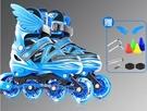 直排輪 溜冰鞋兒童全套套裝男童女童初學者旱冰輪滑鞋小孩中大童專業TW【快速出貨八折鉅惠】