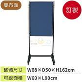 (預定品)台灣製造小型雙布面海報架 WSW-609A ☆限量破盤下殺56折+分期零利率☆廣告牌/告示架☆