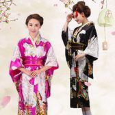 日本和服女正裝日式和風浴衣cos攝影寫真服裝 演出服【新品上市】
