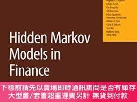 二手書博民逛書店Hidden罕見Markov Models In FinanceY255174 Mamon, Rogemar