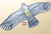 特大老鷹風箏 造型風箏 (特大立體布面碳纖維架162cm x 72cm)/一隻入(定150)立體老鷹風箏-5306