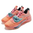 Nike 籃球鞋 Zoom Freak 3 EP Stay Freaky 橘紅 藍 男鞋 字母哥【ACS】 DA0695-600