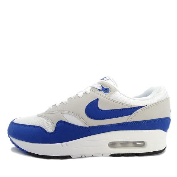 Nike Air Max 1 Anniversary [908375-102] 男鞋 經典 復古 潮流 運動 藍 白
