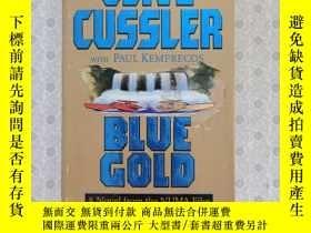 二手書博民逛書店36開英文原版罕見Blue Cold : A Novel from the Numa FilesY281995