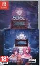 【玩樂小熊】現貨中 Switch遊戲NS Sense 不祥的預感: A Cyberpunk Ghost Story中文版