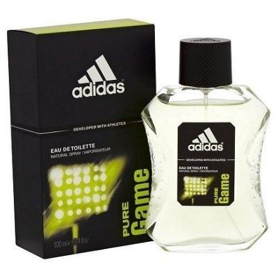 Adidas 愛迪達 PURE GAME 極限挑戰男性香水 100ml