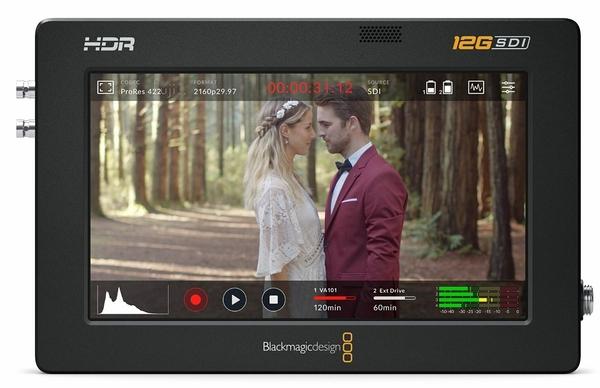 【聖影數位】BlackMagic Design Video Assist 5 12G HDR 監看錄影螢幕 4K記錄器 公司貨