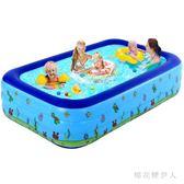 充氣泳池 加厚超大號家庭用寶寶海洋球池嬰兒泳池 AW4142【棉花糖伊人】