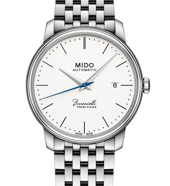 MIDO美度BARONCELLI永恆系列機械錶(M0274071101000)白面/39mm