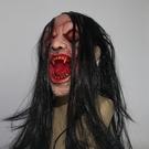 恐怖面具嚇人鬼節鬼臉頭套搞怪劇本殺萬圣節鬼屋派對裝密室逃脫 薇薇