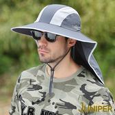 遮陽漁夫帽子-抗紫外線UV防曬披風超大頭圍尺寸高頂帽J7553 JUNIPER