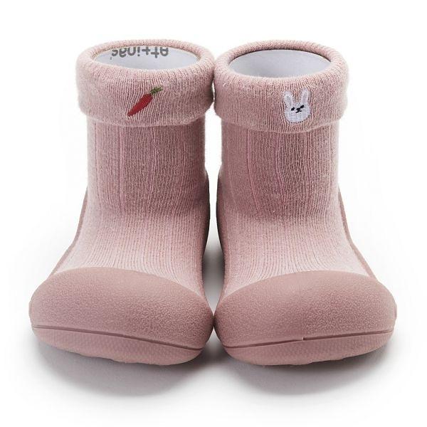 韓國 Attipas 快樂腳襪型學步鞋-動物之森兔兔