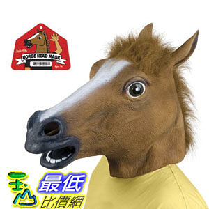 [103 現貨] Accoutrements Horse Head Mask 美國進口 超擬真動物面具 馬頭 頭套