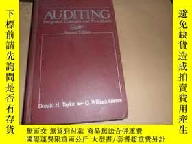 二手書博民逛書店auditing:integrated罕見concepts and procedures(審計:集成的概念和程序)