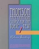 二手書博民逛書店 《Thomson Preparation Course for the TOEIC Test》 R2Y ISBN:053483521X│Thomson Learning